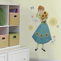 Roommates - Sticker géant Anna Fever Reine des Neiges Disney
