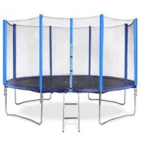 Set trampoline Ø 396 cm avec accessoires