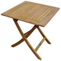 PROLOISIRS - Table en eucalyptus Sophie