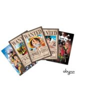 Abystyle - One Piece - Cartes postales - Set 1 Luffy Wanted & Co