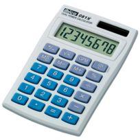 IBico - Calculatrice de poche 081X - écran Lcd a 8 chiffres