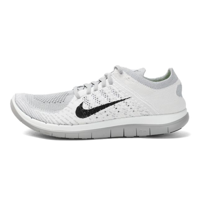 meilleure sélection 59803 a3e06 Nike - Basket Free 4.0 Flyknit - Ref. 631053-101 Blanc - 42 ...