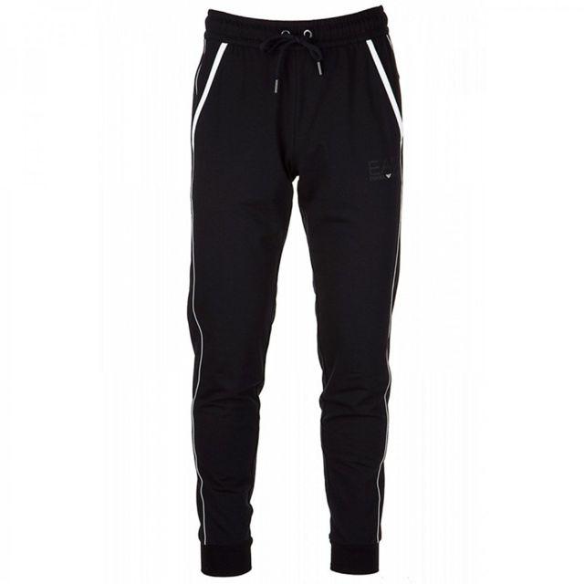 Armani Ea7 - Pantalon de survêtement Ea7 Emporio Armani - Ref.  6YPP80-PJ60Z-. Couleur   Noir. Taille   XXL 3e63ae6b4f35