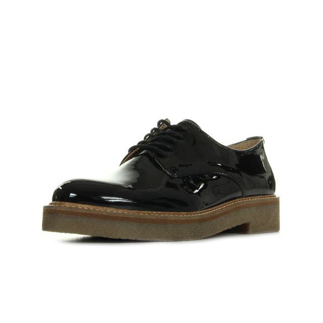 8a35af87a5c Kickers - Oxfork Noir Vernis - pas cher Achat   Vente Chaussures de ...