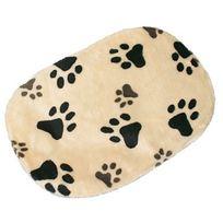 e0e836de5aba Trixie - Coussin beige avec motifs Joey pour chiens Taille S Longueur 64 cm  Largeur 41