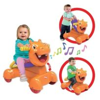 Playskool - Hippo bolide 3 en 1 porteur, trotteur, bascule 9 mois