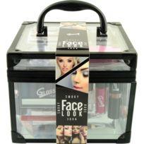 Gloss - Mallette de Maquillage Face Look Nude et Smoky 51 pcs
