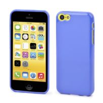 Muvit - Coque Minigel Bleue Apple Iphone 5c