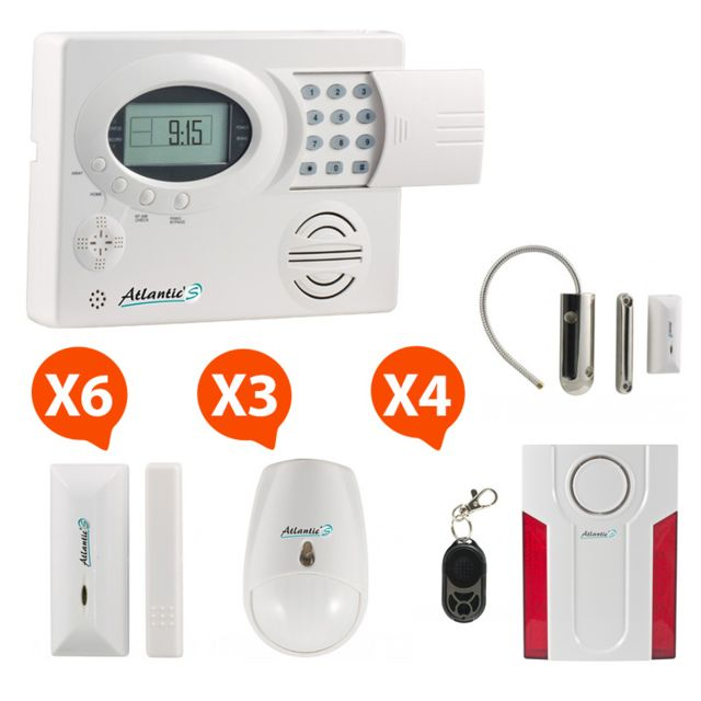 atlantic 39 s st iii kit max md 334r pas cher achat vente alarme rueducommerce. Black Bedroom Furniture Sets. Home Design Ideas