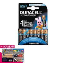 Duracell - Pile alcaline Ultra Power Lr03 - lot de 8