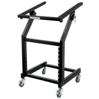 Pronomic - Mxs-600 Trolley de Rack 12+9HE avec roullettes