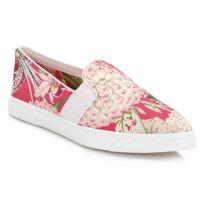 Ted Baker - Womens Floral Swirl Thfia Slip On Shoes-UK 3