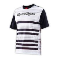 Troy Lee Designs - Maillot Skyline blanc noir
