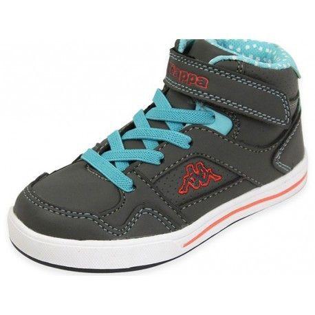 Kappa - Alphor B Ev Kid Dga - Chaussures Bébé Fille Gris - pas cher Achat   Vente  Chaussures, chaussons - RueDuCommerce 0aa5effd2086
