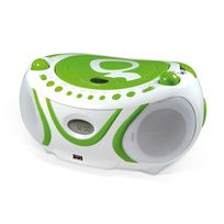 Metronic - Radio Cd-mp3 portable enfant Gulli - Vert