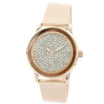Bellas - Montre Femme Bracelet Milanais Acier Diamants Cz 534