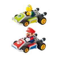 Pull and Speed - Nintendo - Mario Kart 7 Pack de 2 véhicules à friction Mario Kart 7