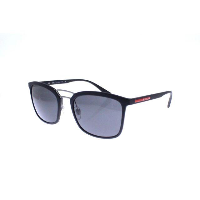 Prada - Sps 03S Dg0-5S0 - Lunettes de soleil homme Noir - pas cher Achat   Vente  Lunettes Aviateur - RueDuCommerce 57c158d6325