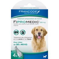 Francodex - Fipromedic® 268 mg x 4 pipettes