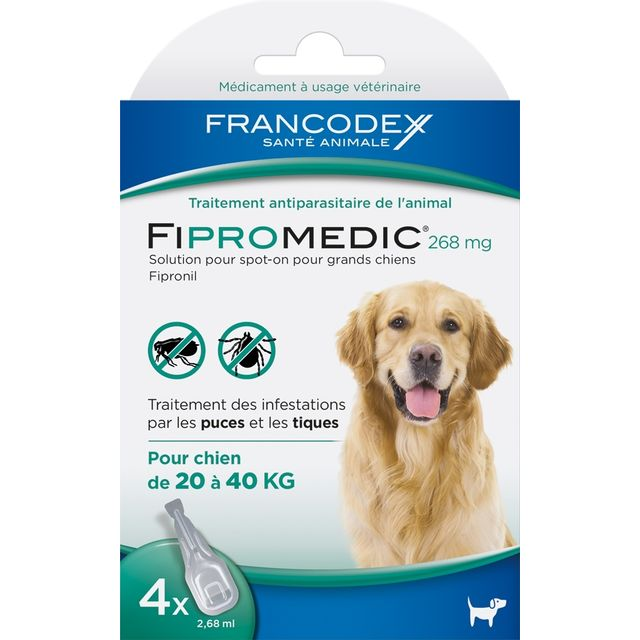 Francodex - Fipromedic® 268 mg x 4 pipettes