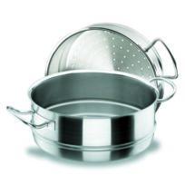 Lacor - Casserole à vapeur en inox 18/10 - Ø 28 cm - Chef Classic