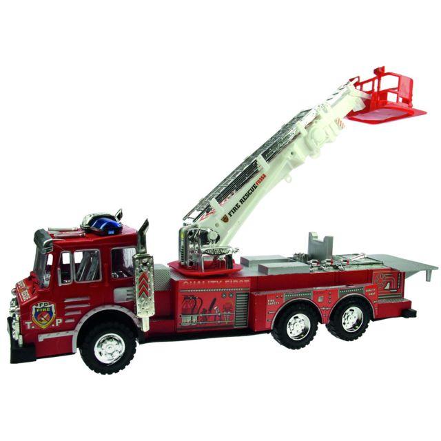 Imagin Jouet Camion de pompier - L. 52 cm - Rouge