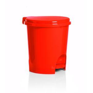 carrefour poubelle p dale 3l plastique rouge 9930544 pas cher achat vente poubelle. Black Bedroom Furniture Sets. Home Design Ideas