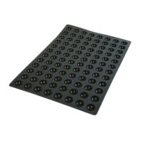 Guery - Plaque silicone mini demi-sphère 40 x 60 cm