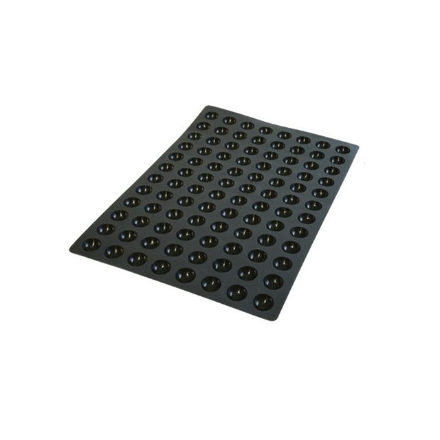 Guery Plaque silicone mini demi-sphère 40 x 60 cm