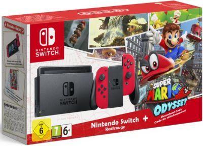 Console Switch Super Mario Odyssey Edition