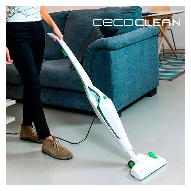 Cecoclean Aspirateur Balai Cyclonique sans Sac Duo Stick 5005