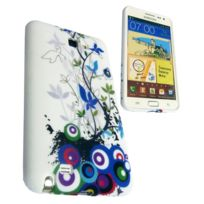 Nzup - Housse SoftyGel Flower pour Samsung Galaxy Note