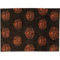 Inside 75 - Basanti Tapis laine marron 170x240 cm