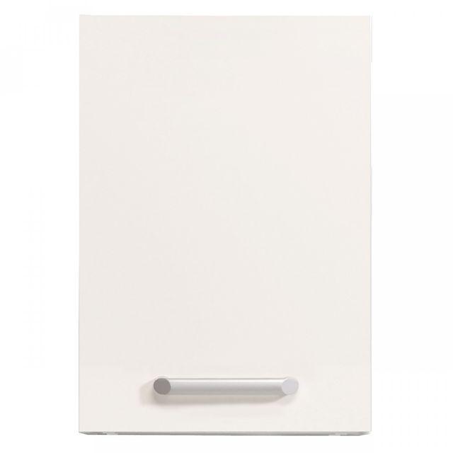 Altobuy Luna Blanc - Meuble Haut 1P 60 cm