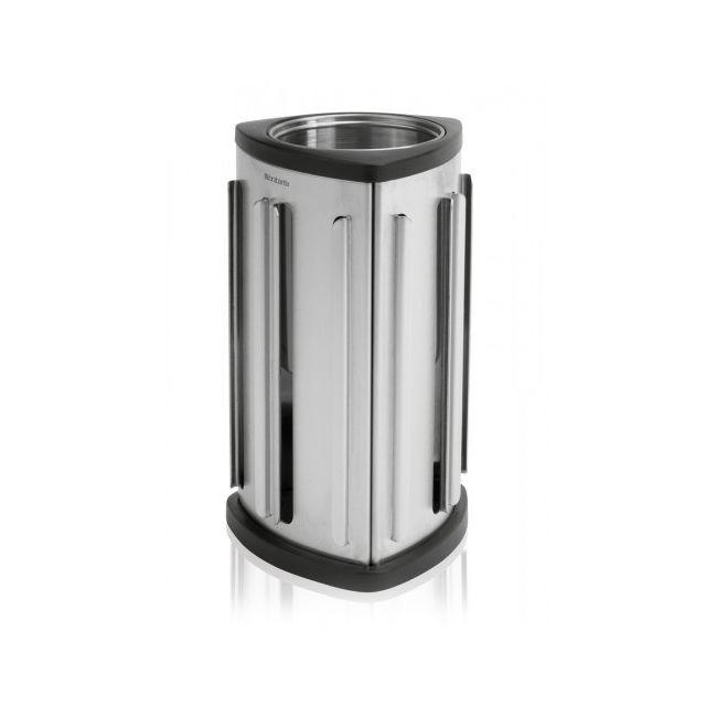 Brabantia Distributeur de capsules de café - Matt Steel - debout