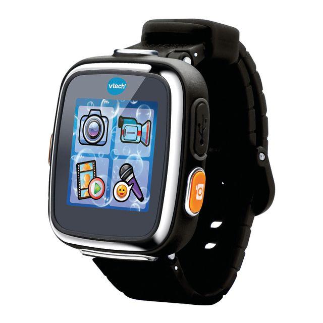 VTECH Montre Kidizoom Smartwatch Connect DX - noire - 171665