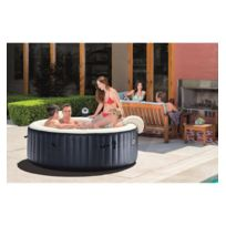 Hespéride - Spa gonflable bulles Blue navy 6 places Intex