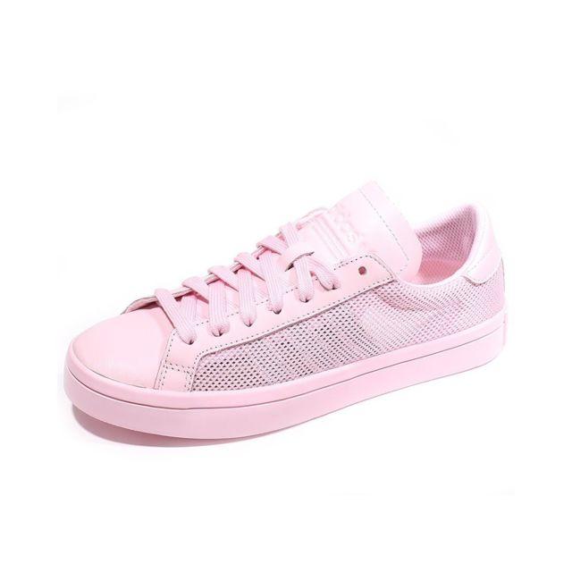0c50251a656c Adidas - Chaussures Court Vantage Rose Femme Multicouleur 38 - pas ...