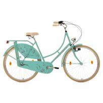 KS CYCLING - Vélo hollandais 28'' Tussaud menthe mate 3 vitesses TC 54 cm