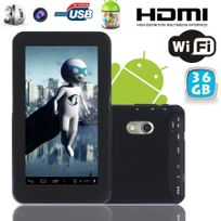 Yonis - Tablette tactile Android 4.2 Jelly Bean 7 pouces Pearl Noir 36Go