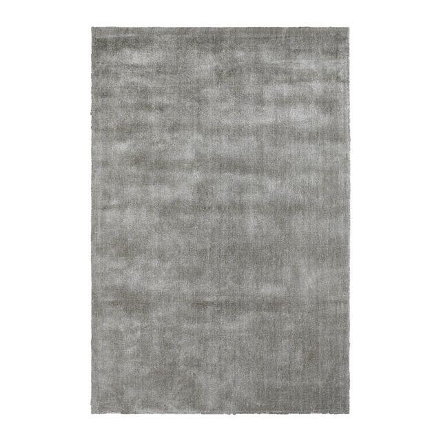 deladeco tapis poils court argent en tencel anti t ches vanity pas cher achat vente. Black Bedroom Furniture Sets. Home Design Ideas