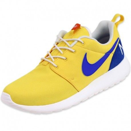 brand new 38009 21b3d Nike - Chaussures Roshe One Retro Jaune Homme Multicouleur - 40 1 2 - pas  cher Achat   Vente Baskets homme - RueDuCommerce
