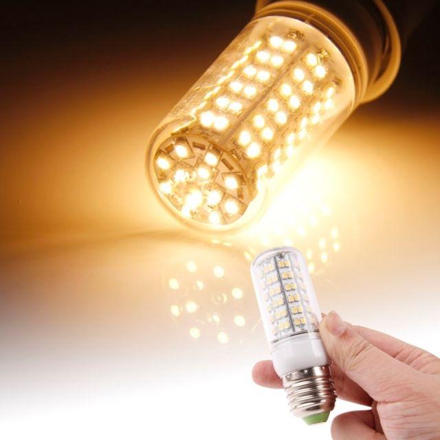 E27 Smd 220v 3528 Ampoule 8 Transparent Ac Wewoo 660lm 0w Led 45j3LAR