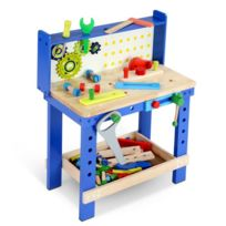 Infantastic - Établi Blau pour enfant, en set avec de nombreux accessoires
