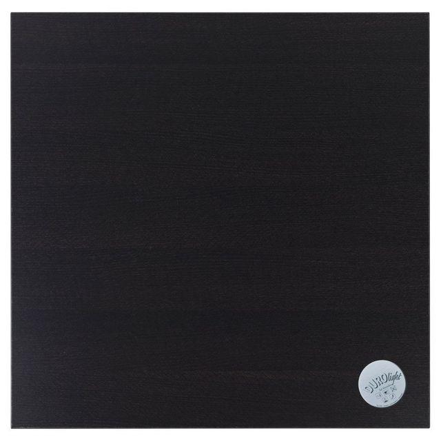 Alterego Plateau de table 'TOGO' carré 68x68cm en bois finition Wengé