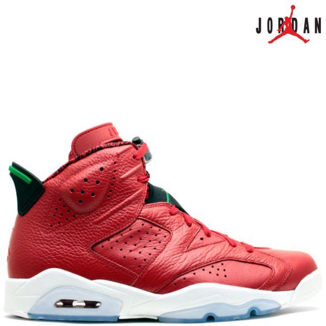 new concept 8da8a 11221 Jordan - Nike Air 6 Retro Vi 694091-625 Mvp History Of Spizike Greenair  100% authentique Rouge - 42 - pas cher Achat  Vente Baskets homme -  RueDuCommerce