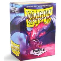 Dragon Shield - Dés et Accessoires - Deck Box 100 Deck Protectors Matte Violet