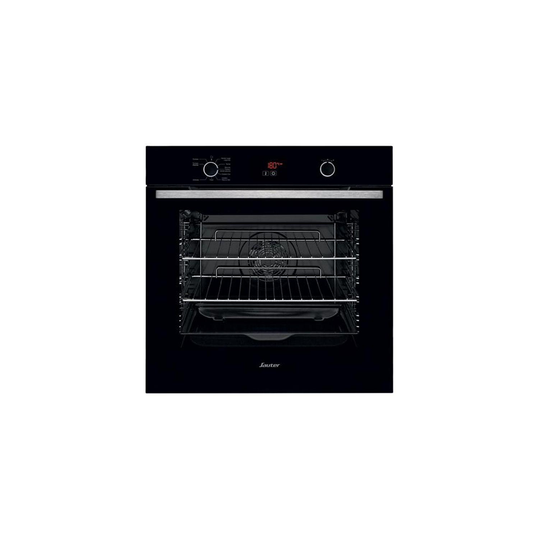 SAUTER- Four Intégrable Multifonction 73l 60cm A+ Pyrolyse Noir - Sop5532b