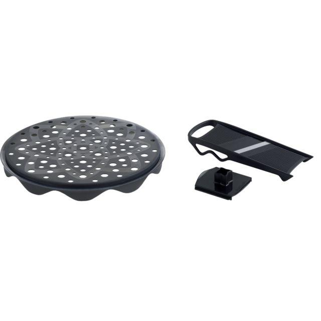mastrad topchips noir kit 1 plateau 1 mandoline cuit chips f64601 pas cher achat. Black Bedroom Furniture Sets. Home Design Ideas