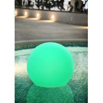 Dedans Dehors - Boule lumineuse multicolore autonome plusieurs tailles dispo